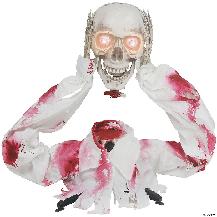 Off With His Head Ground Breaker Skeleton Halloween Décor