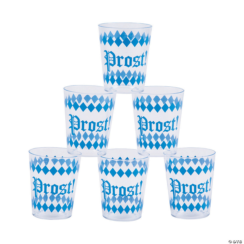 Oktoberfest Plastic Shot Glasses Audio Thumbnail