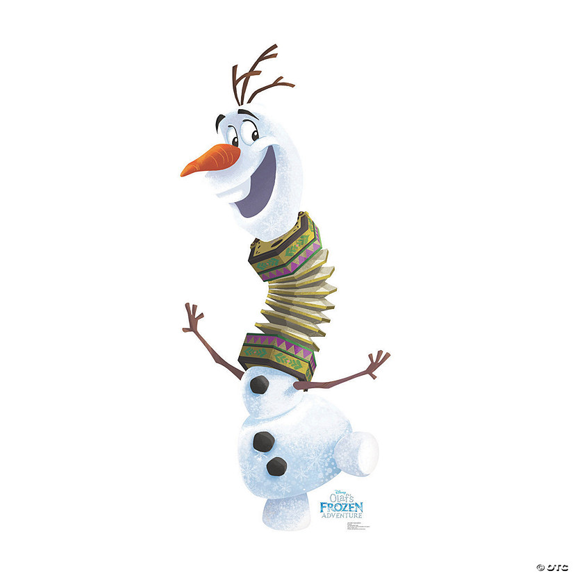 Olaf's Frozen Adventure™ Goofy Olaf Stand-Up