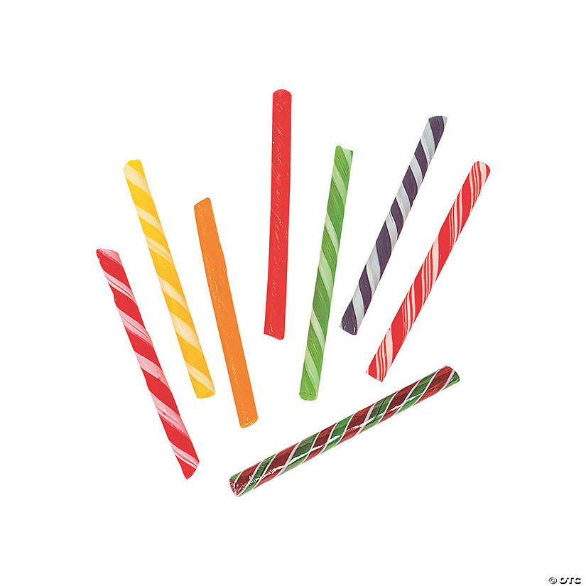 Old-Fashioned Hard Candy Sticks