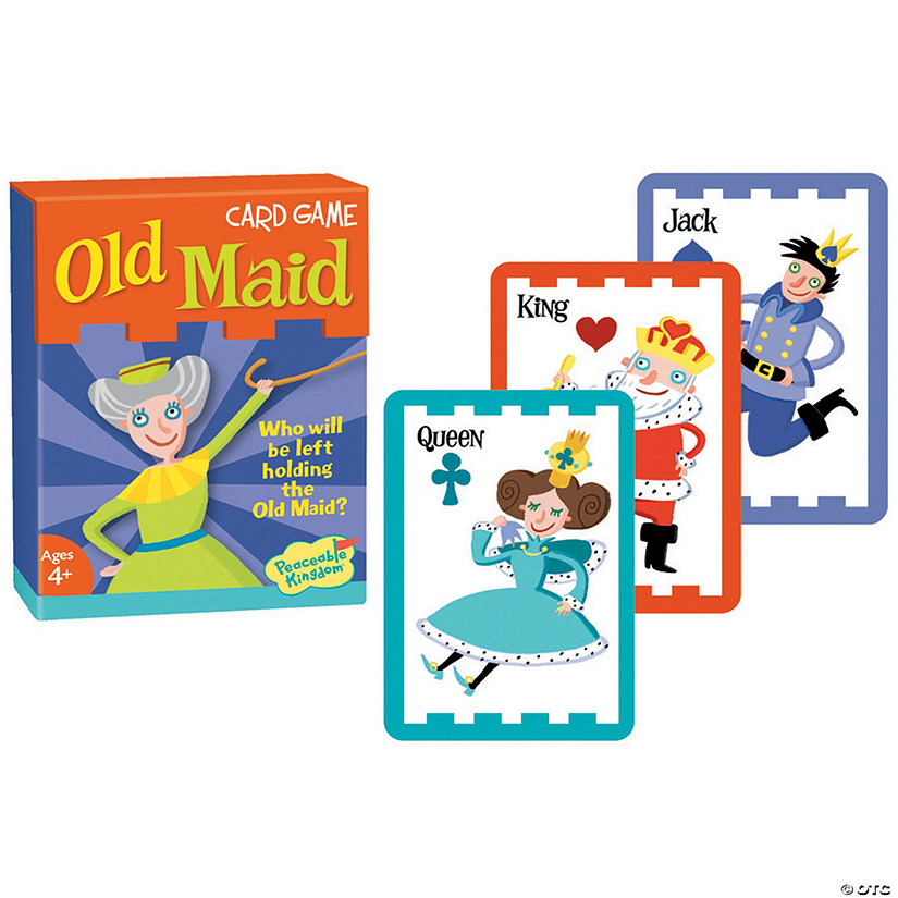 Old Maid Card Game Image Thumbnail