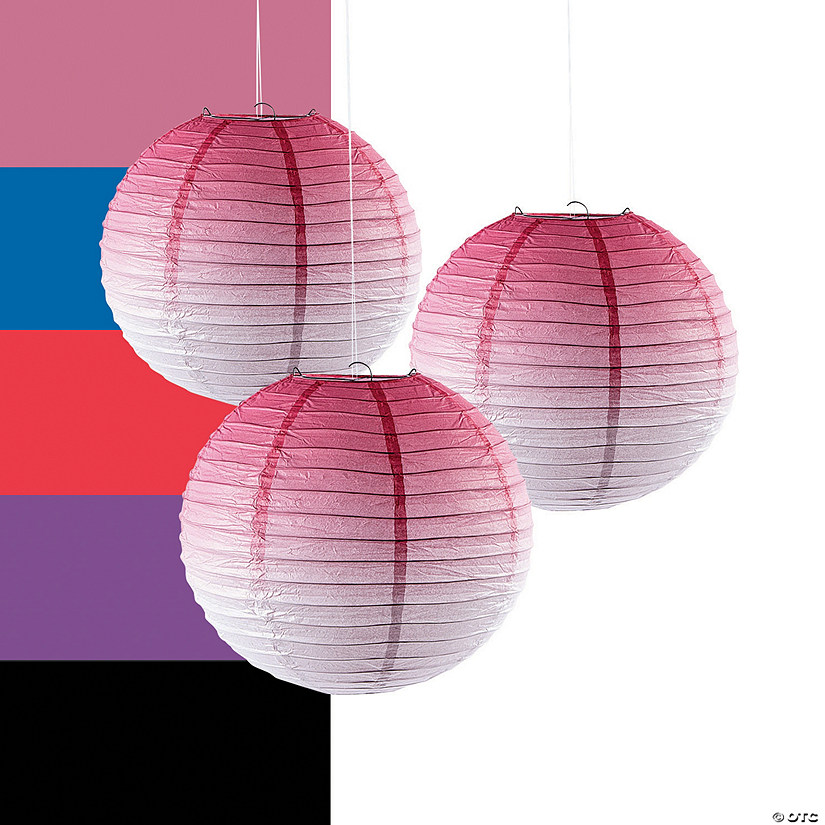 Ombre Hanging Paper Lanterns Audio Thumbnail
