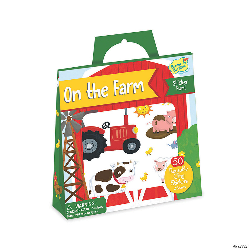 On The Farm Reusable Sticker Tote Audio Thumbnail