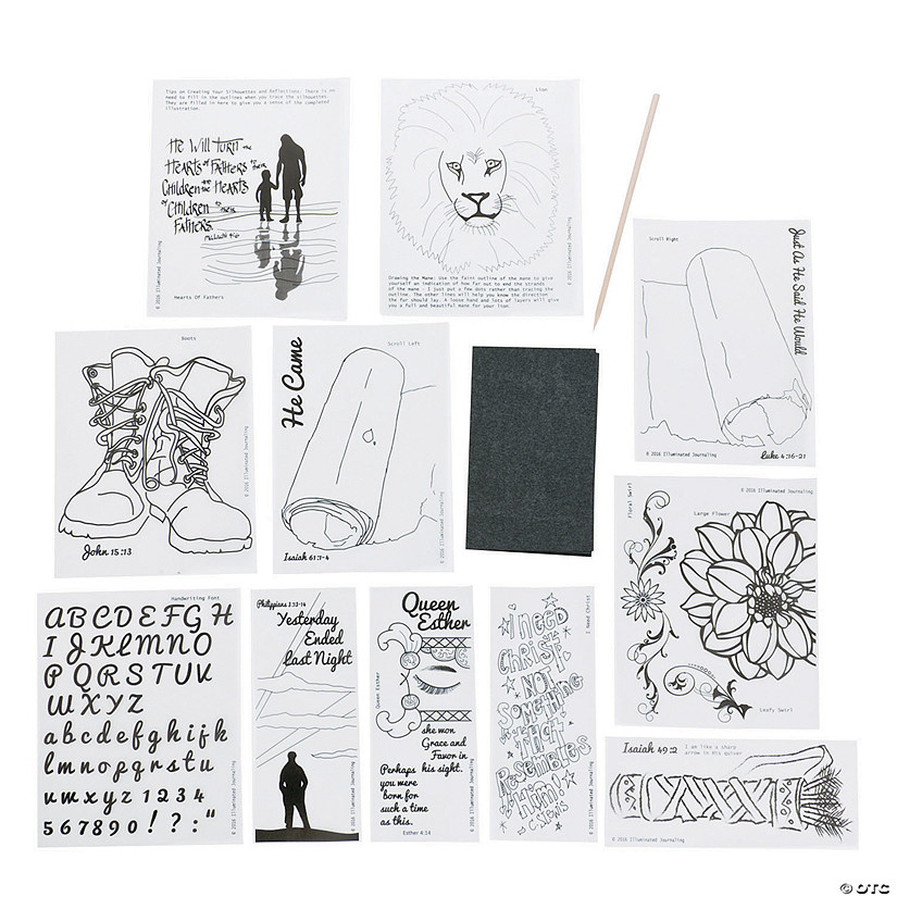 One & Done's Favorites Transfer Sheets