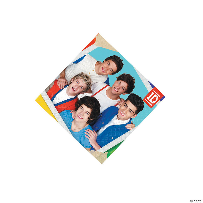 One Direction Beverage Napkins