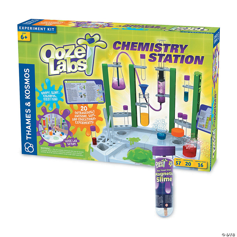 Ooze Lab Station plus FREE Magnetic Slime Audio Thumbnail
