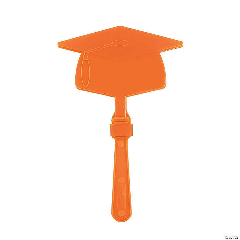 Orange Graduation Mortarboard Clappers Audio Thumbnail