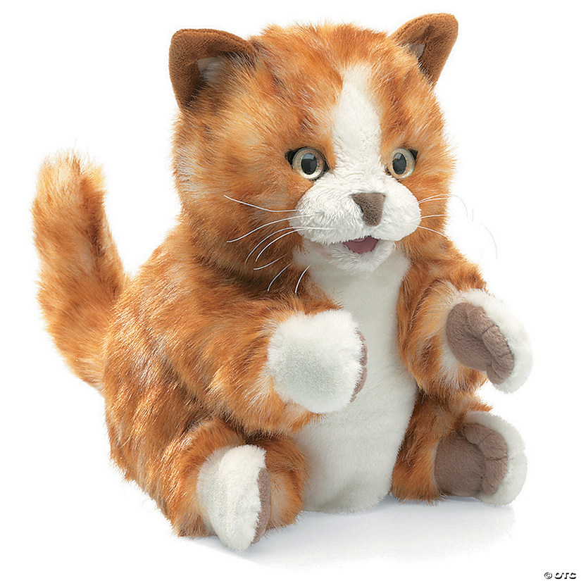 Orange Tabby Kitten Puppet Image Thumbnail