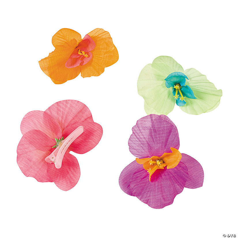 Orchid Hair Clips - Less Than Perfect Image Thumbnail