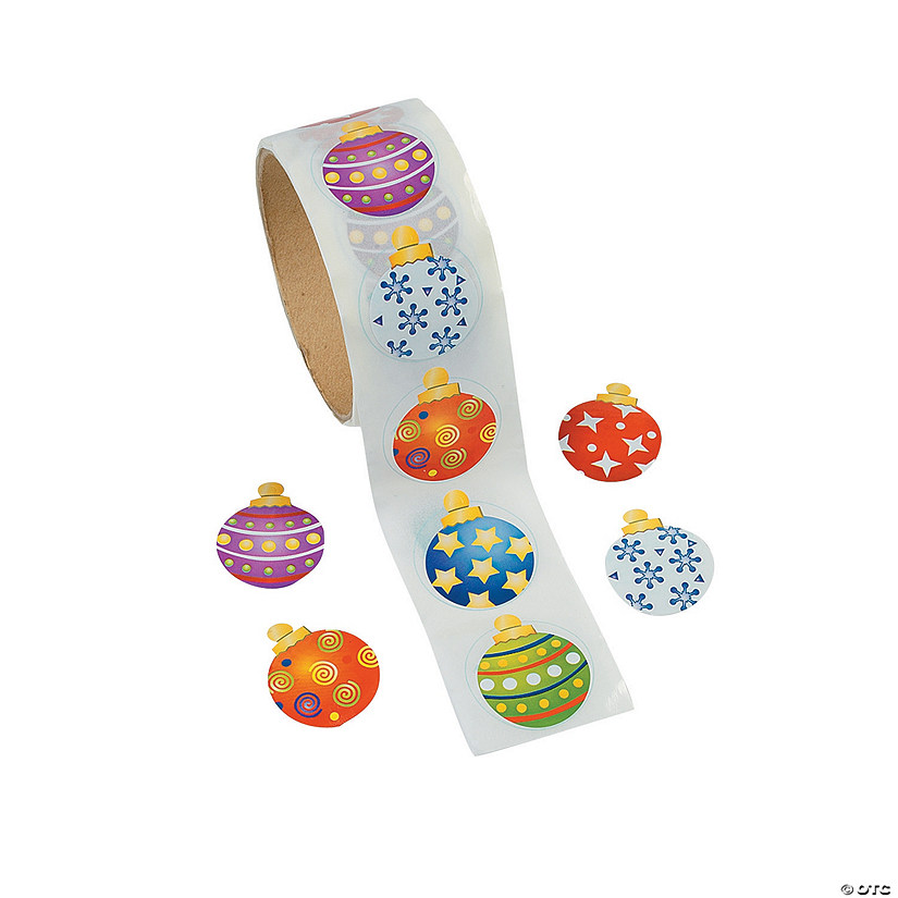 Ornament Roll of Stickers Audio Thumbnail