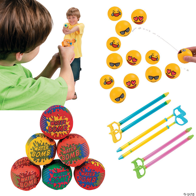 Outdoor Water Toy Kit Image Thumbnail