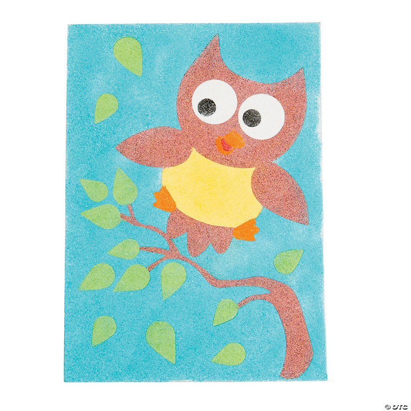 3ab1e65a7a5d3 Owl Sand Art Pictures - Discontinued