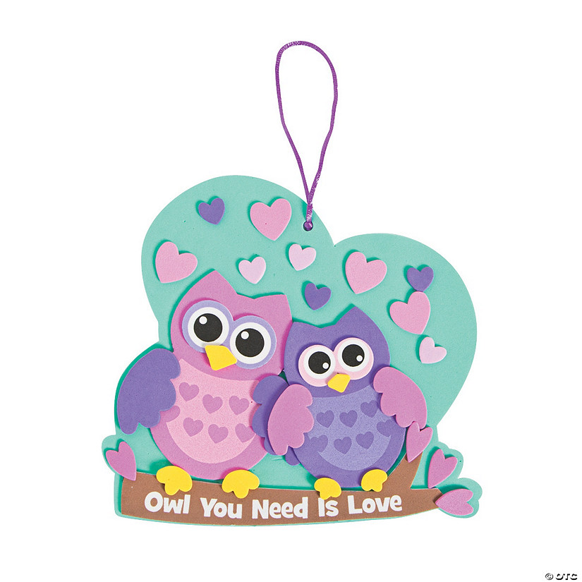 Owl You Need Is Love Sign Craft Kit