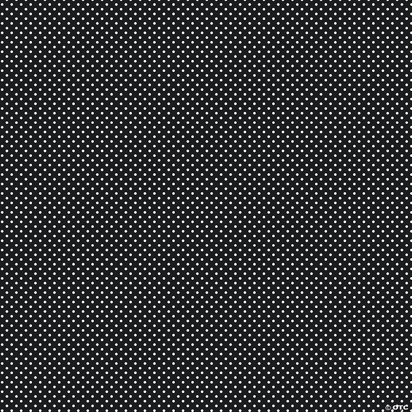 Pacon® Fadeless® Art Black Classic Dots Paper Roll