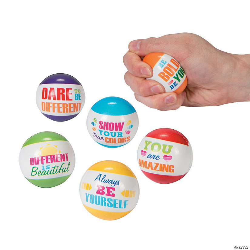 Paint Chip Motivational Stress Balls Image Thumbnail