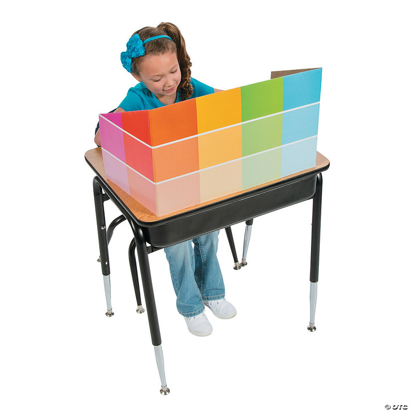 Paint Chip Study Carrels