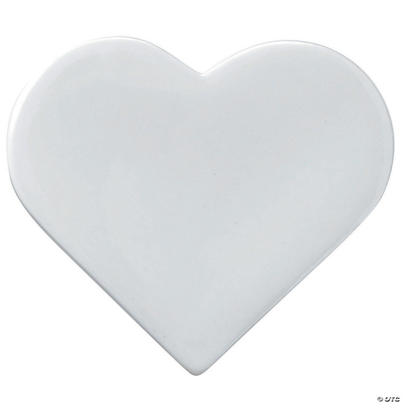 Paint Your Own Porcelain Heart Image Thumbnail
