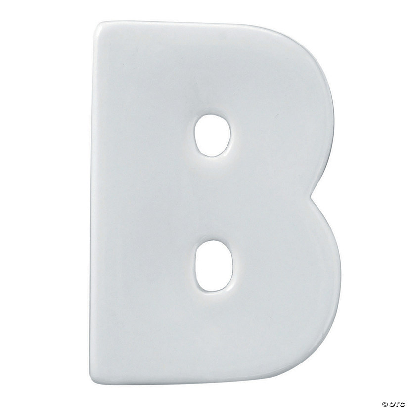 Paint Your Own Porcelain Letter  B
