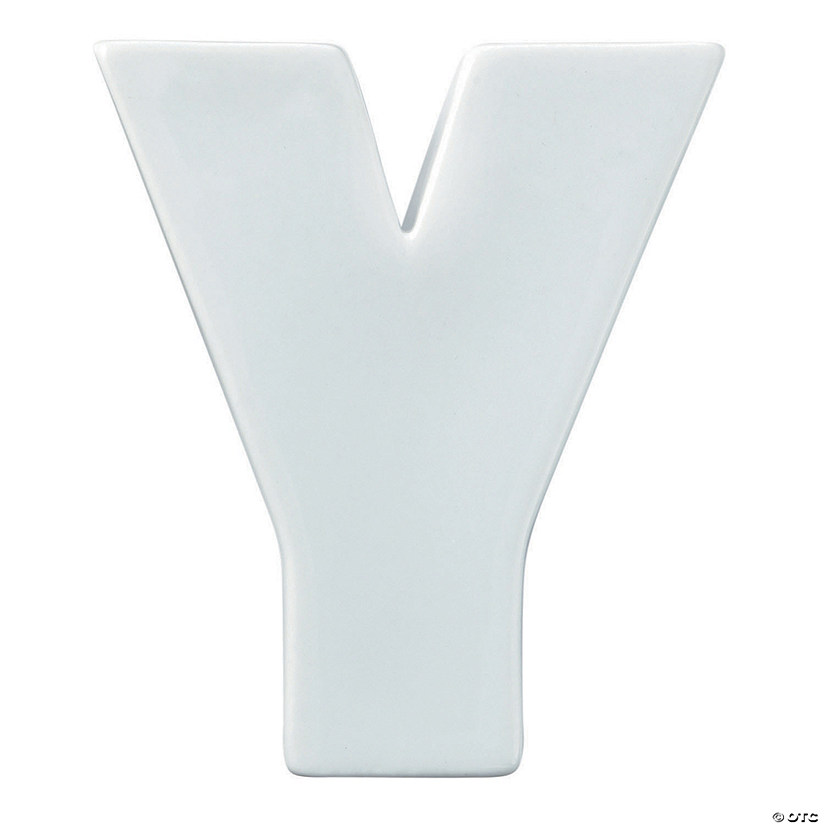 Paint Your Own Porcelain Letter  Y Audio Thumbnail