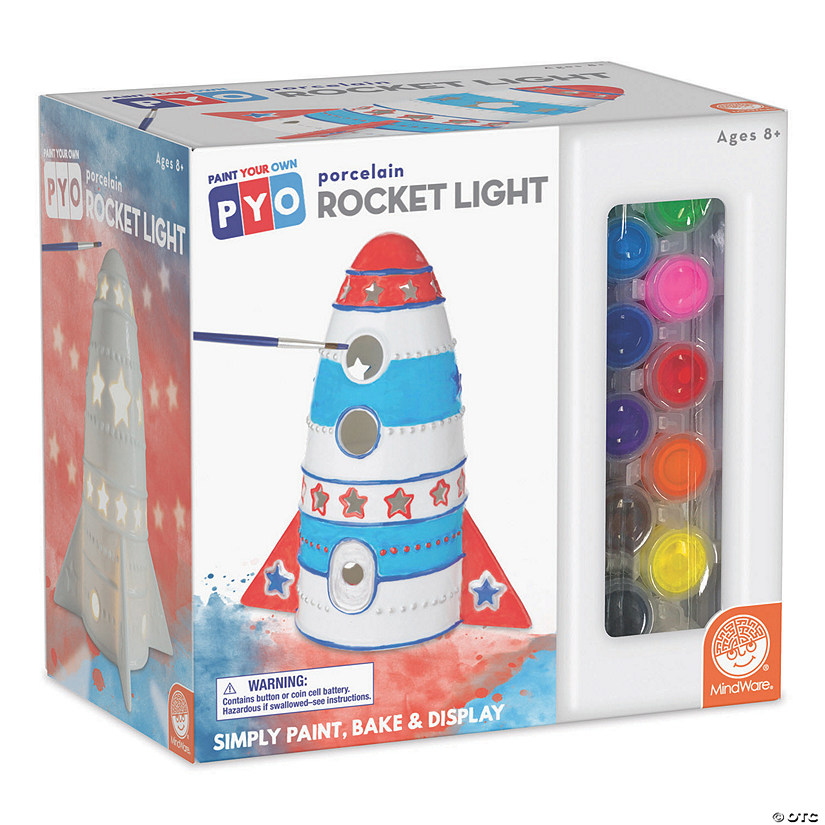 Paint Your Own Porcelain Light: Rocket Audio Thumbnail