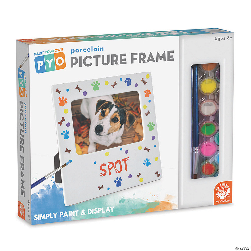 Paint Your Own Porcelain: Picture Frame Image Thumbnail
