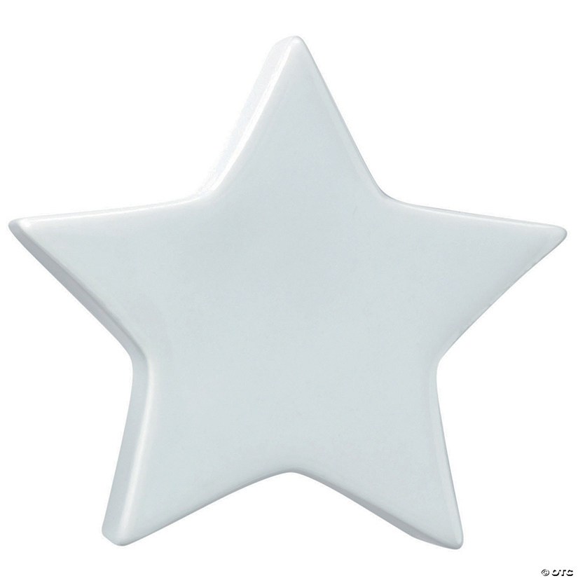 Paint Your Own Porcelain  Star