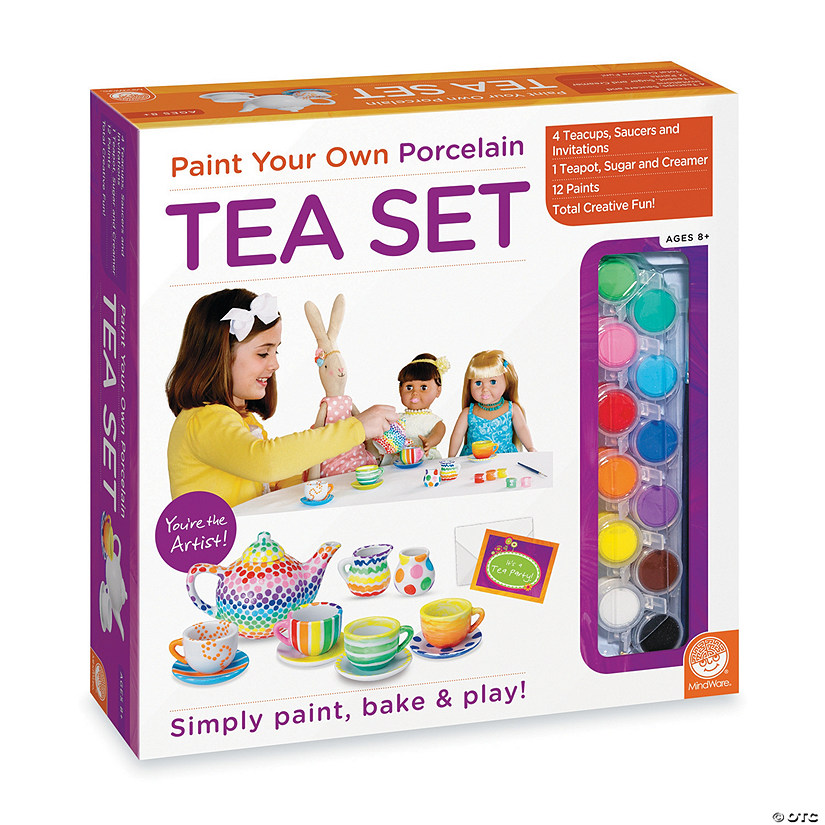 Paint Your Own Porcelain Tea Set Audio Thumbnail