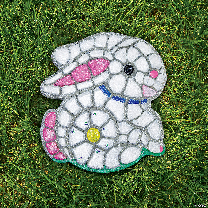 Paint Your Own Stepping Stone: Bunny Image Thumbnail