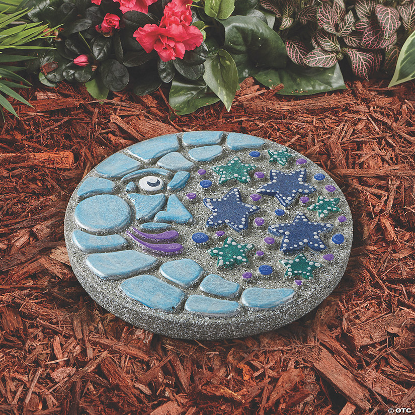 Paint Your Own Stepping Stone: Moon and Stars Image Thumbnail