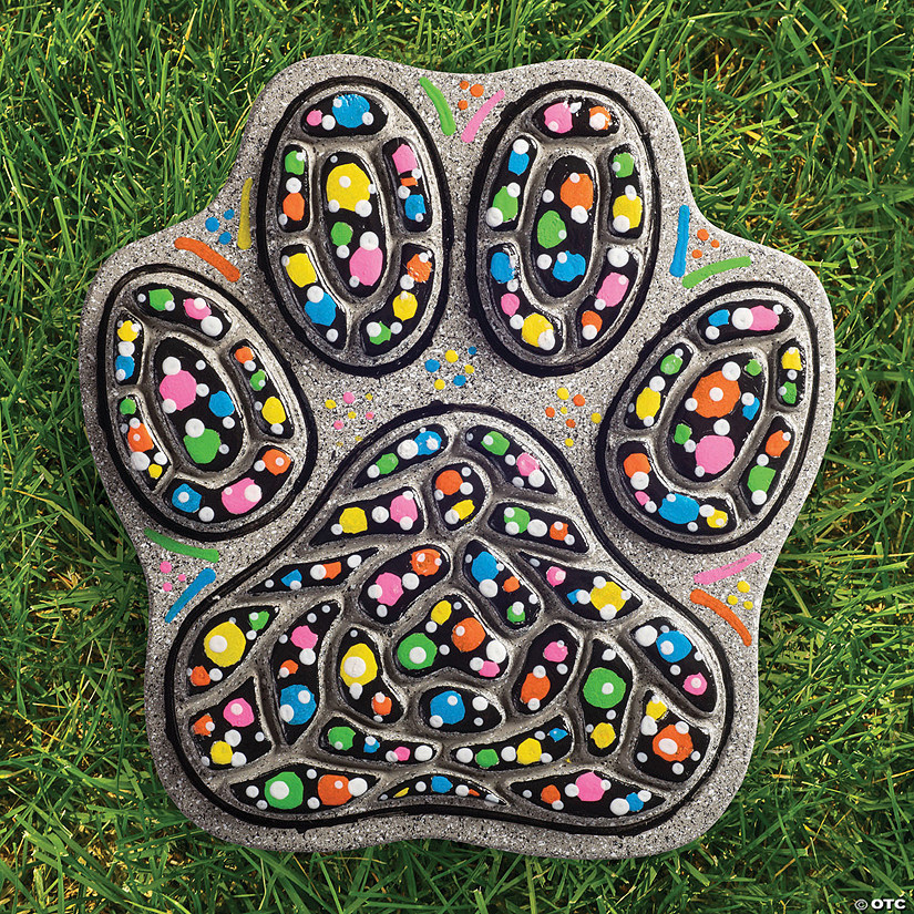 Paint Your Own Stepping Stone: Paw Image Thumbnail