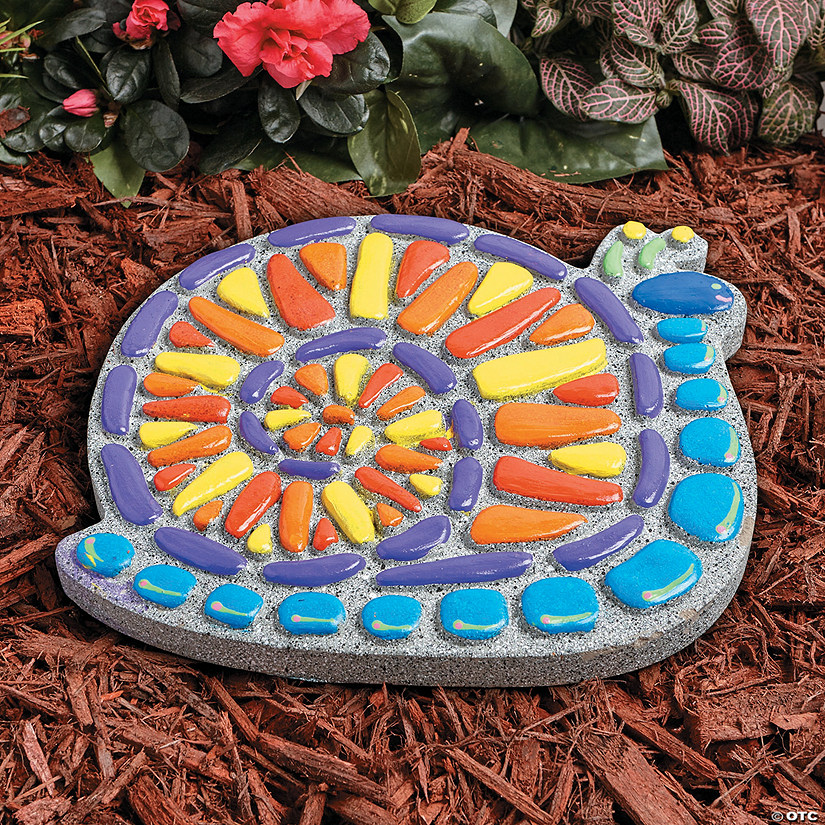 Paint Your Own Stepping Stone: Snail