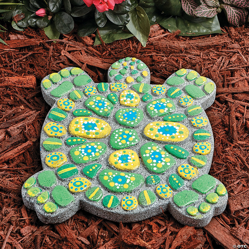 Paint Your Own Stepping Stone: Turtle Image Thumbnail