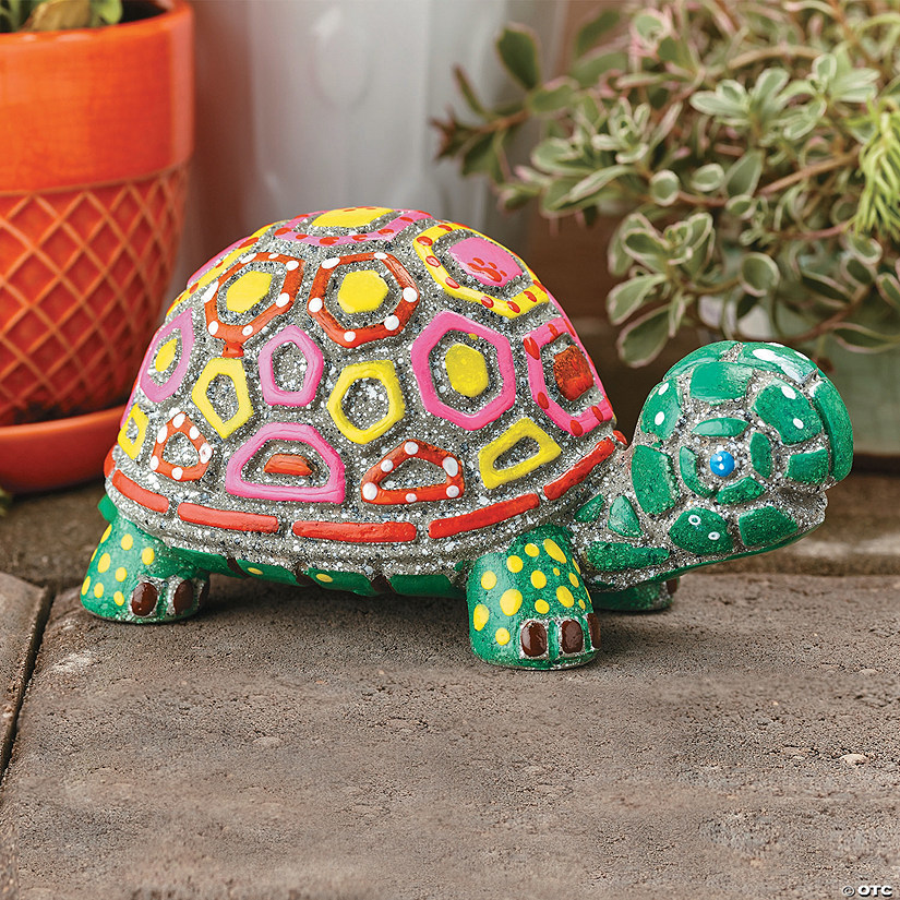 Paint Your Own: Stone Turtle Image Thumbnail