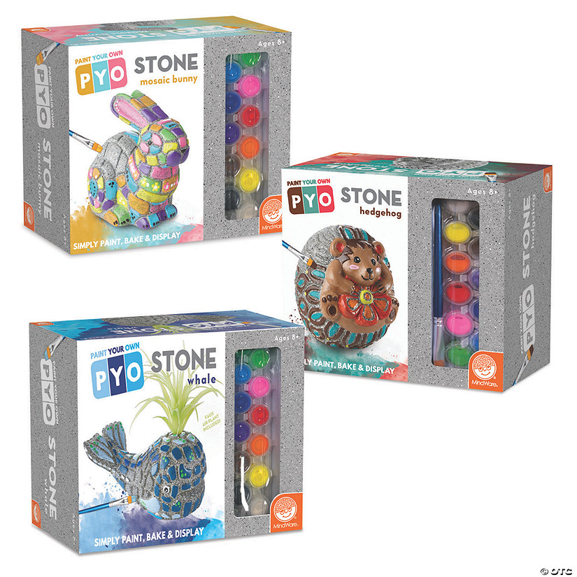 Paint Your Own Stones: Set of 3 Audio Thumbnail