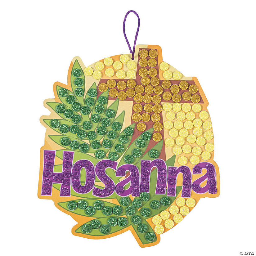 Palm Leaf Hosanna Mosaic Craft Kit Image Thumbnail
