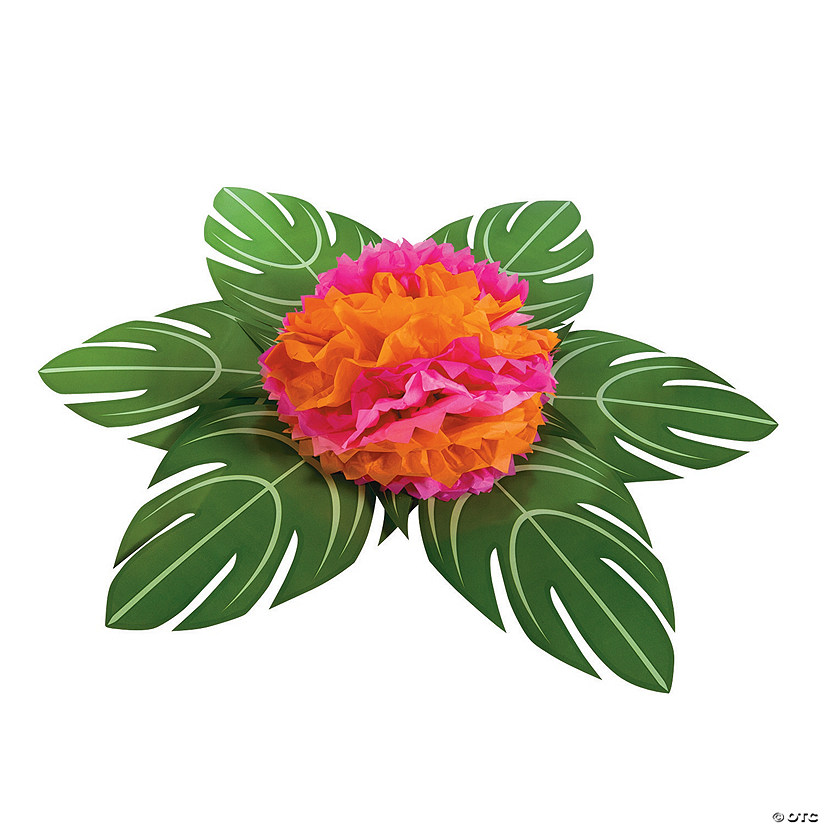 Palm Leaf Table Décor with Flower Audio Thumbnail
