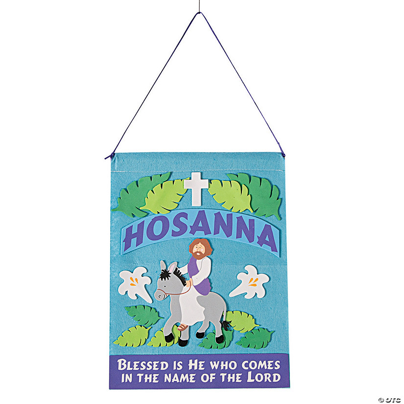 Palm Sunday Banner Craft Kit Image Thumbnail