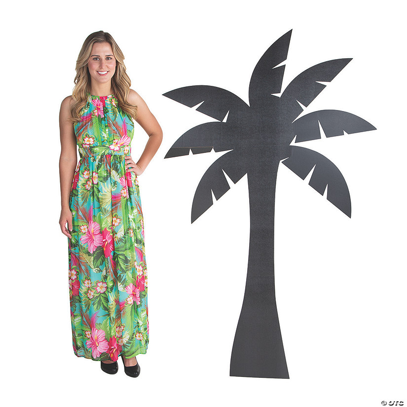 Palm Tree Silhouette Stand-Up Image Thumbnail