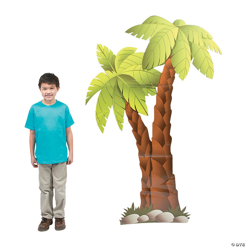 Palm Trees Cardboard Stand-up Audio Thumbnail