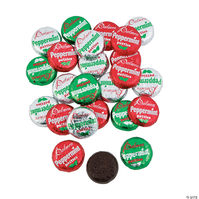 Palmer<sup>&#174;</sup> Christmas Peppermint Patties Chocolate Candy Image Thumbnail