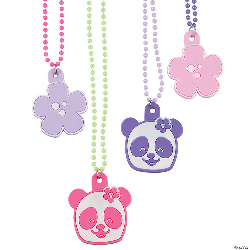 Panda Party Bead Necklaces