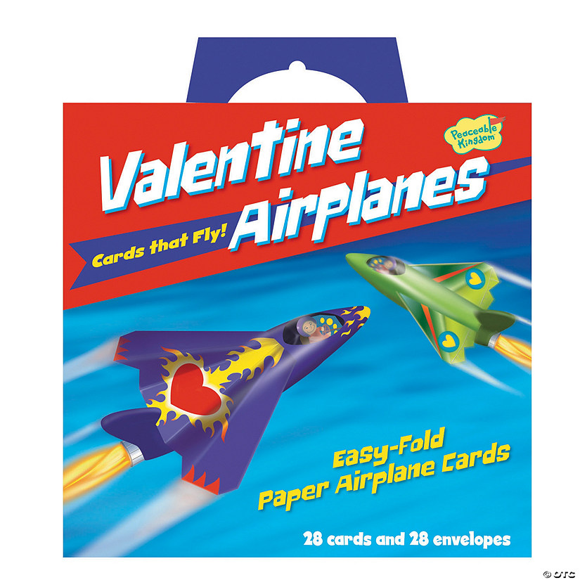 Paper Airplane Super Fun Valentines Pack Image Thumbnail