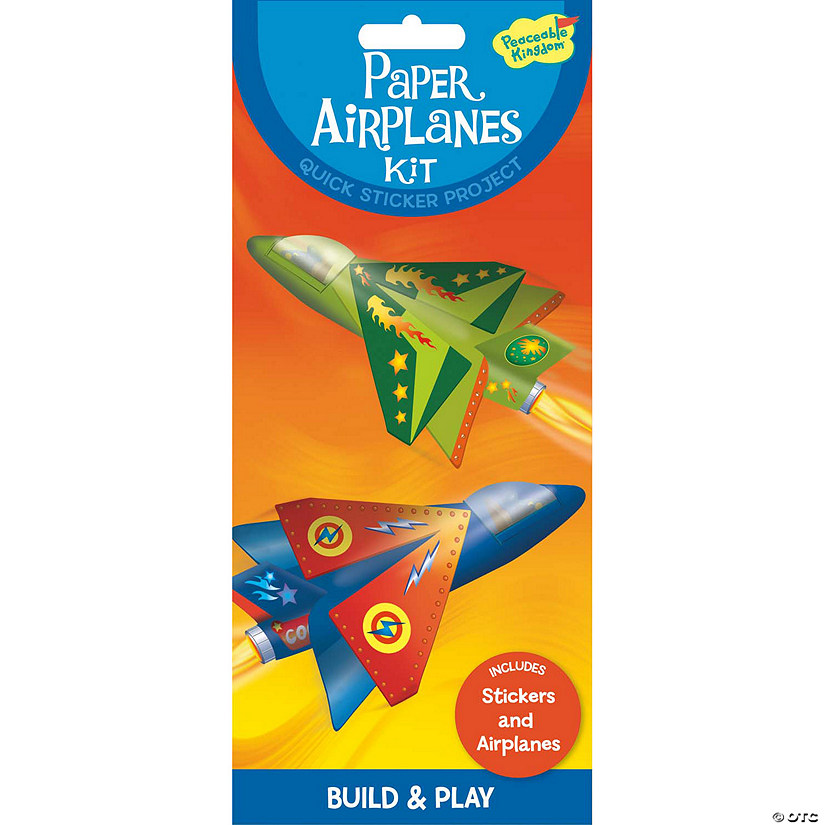 paper airplanes quick sticker kit discontinued