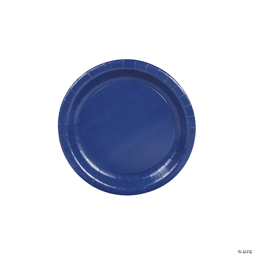 Paper Dessert Plates - Navy Blue Audio Thumbnail