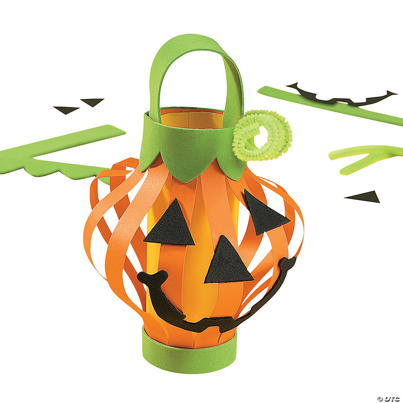 Paper Jack-O'-Lantern Craft Kit Audio Thumbnail