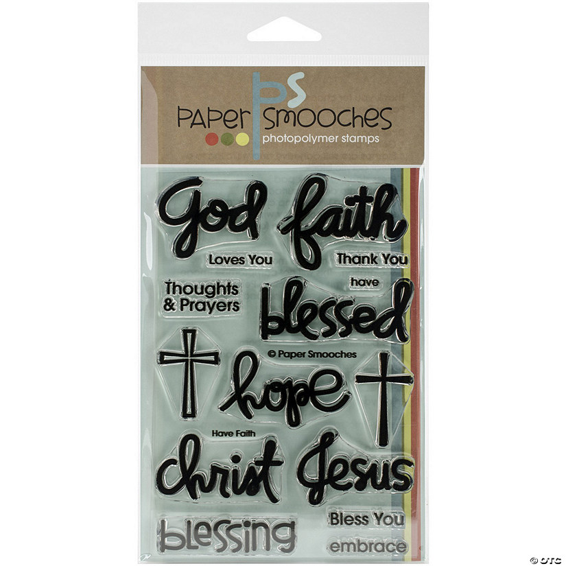 Paper Smooches Clear Stamps-Have Faith