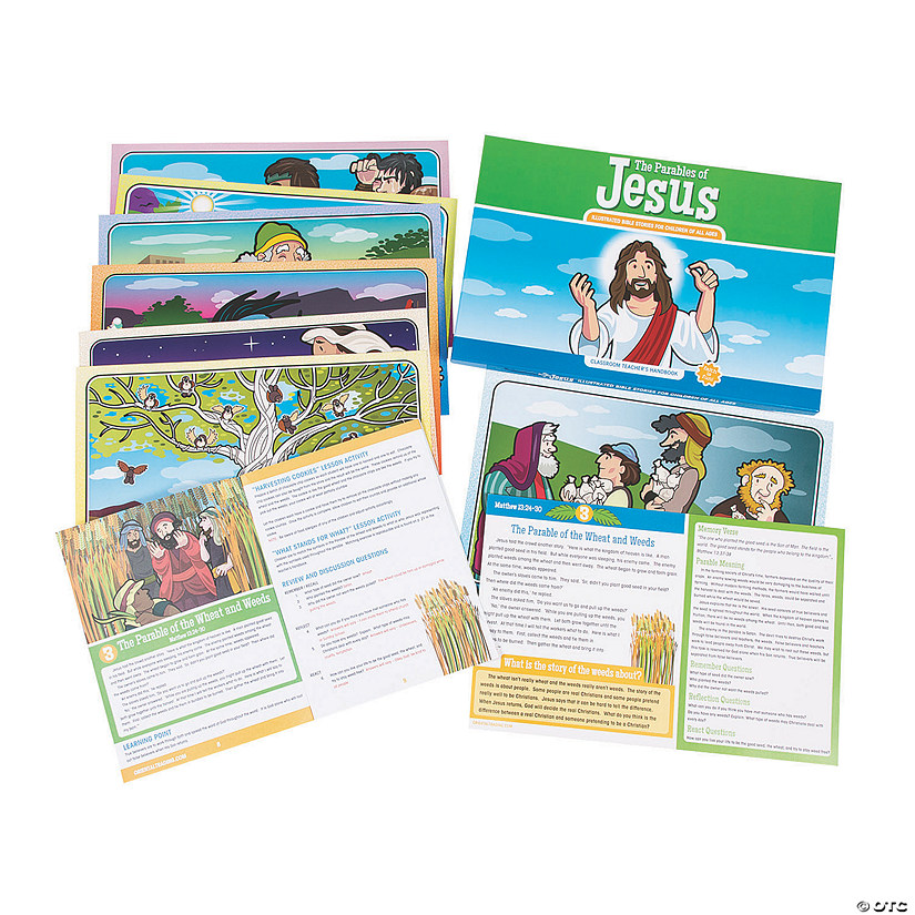 Parables of Jesus Teacher Companion Image Thumbnail