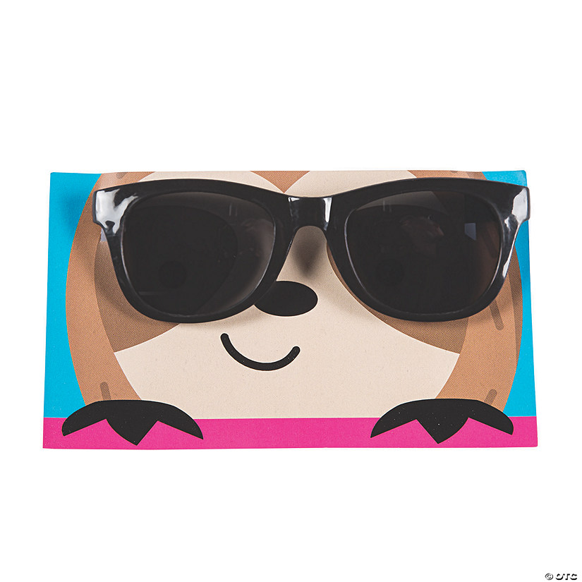 Party Animal Sunglasses with Card Image Thumbnail