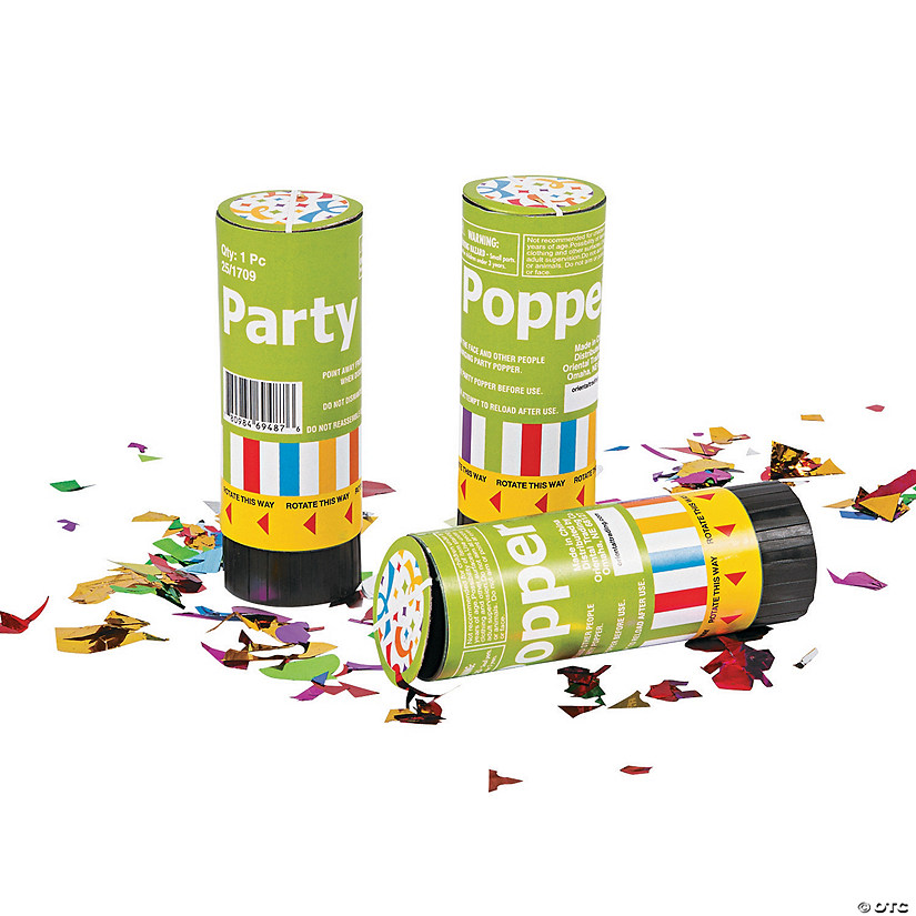 Party Poppers Audio Thumbnail