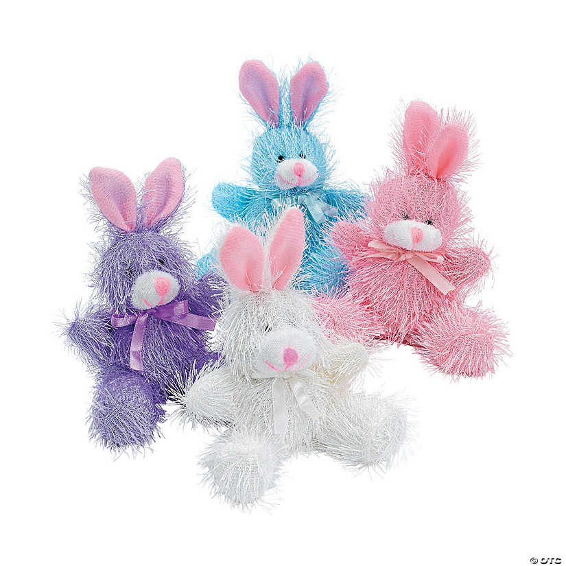 Pastel Furry Stuffed Bunnies Audio Thumbnail